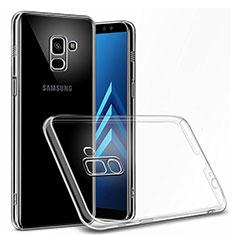 Custodia Silicone Trasparente Ultra Slim Morbida per Samsung Galaxy On6 (2018) J600F J600G Chiaro