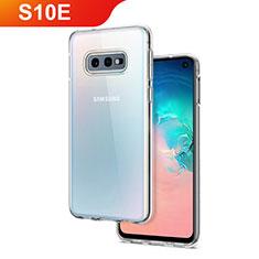 Custodia Silicone Trasparente Ultra Slim Morbida per Samsung Galaxy S10e Chiaro