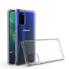 Custodia Silicone Trasparente Ultra Slim Morbida per Samsung Galaxy S20 Plus 5G Chiaro