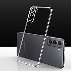 Custodia Silicone Trasparente Ultra Slim Morbida per Samsung Galaxy S21 5G Chiaro