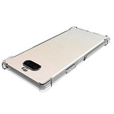 Custodia Silicone Trasparente Ultra Slim Morbida per Sony Xperia 8 Chiaro