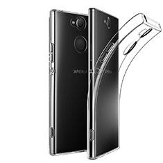 Custodia Silicone Trasparente Ultra Slim Morbida per Sony Xperia XA2 Ultra Chiaro