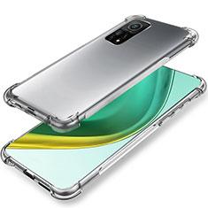 Custodia Silicone Trasparente Ultra Slim Morbida per Xiaomi Mi 10T 5G Chiaro