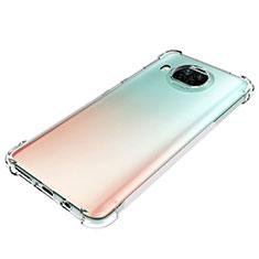 Custodia Silicone Trasparente Ultra Slim Morbida per Xiaomi Mi 10T Lite 5G Chiaro