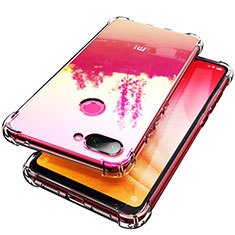 Custodia Silicone Trasparente Ultra Slim Morbida per Xiaomi Mi 8 Lite Chiaro