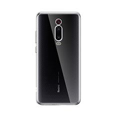 Custodia Silicone Trasparente Ultra Slim Morbida per Xiaomi Mi 9T Chiaro