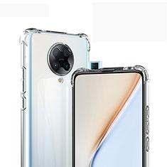 Custodia Silicone Trasparente Ultra Slim Morbida per Xiaomi Poco F2 Pro Chiaro