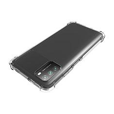 Custodia Silicone Trasparente Ultra Slim Morbida per Xiaomi Poco M3 Chiaro
