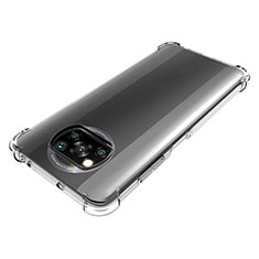 Custodia Silicone Trasparente Ultra Slim Morbida per Xiaomi Poco X3 NFC Chiaro