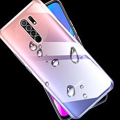 Custodia Silicone Trasparente Ultra Slim Morbida per Xiaomi Redmi 9 Chiaro