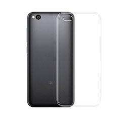 Custodia Silicone Trasparente Ultra Slim Morbida per Xiaomi Redmi Go Chiaro