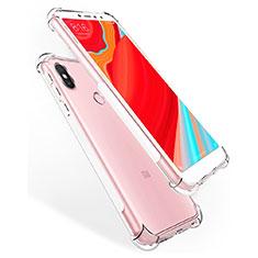 Custodia Silicone Trasparente Ultra Slim Morbida per Xiaomi Redmi Y2 Chiaro