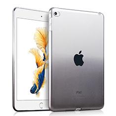 Custodia Silicone Trasparente Ultra Slim Morbida Sfumato per Apple iPad Air 2 Grigio