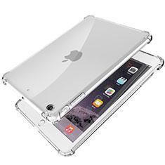Custodia Silicone Trasparente Ultra Sottile Cover Morbida H01 per Apple iPad Mini Chiaro