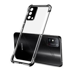 Custodia Silicone Trasparente Ultra Sottile Cover Morbida H01 per Huawei Honor X10 Max 5G Nero