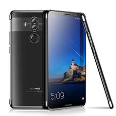 Custodia Silicone Trasparente Ultra Sottile Cover Morbida H01 per Huawei Mate 10 Pro Nero