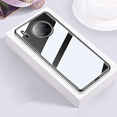 Custodia Silicone Trasparente Ultra Sottile Cover Morbida H01 per Huawei Mate 30 5G Nero
