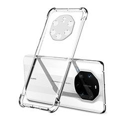 Custodia Silicone Trasparente Ultra Sottile Cover Morbida H01 per Huawei Mate 40 RS Chiaro