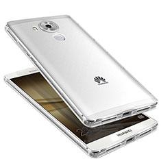 Custodia Silicone Trasparente Ultra Sottile Cover Morbida H01 per Huawei Mate 8 Chiaro