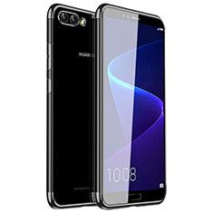 Custodia Silicone Trasparente Ultra Sottile Cover Morbida H01 per Huawei Nova 2S Nero