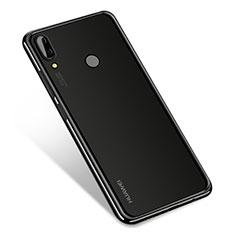 Custodia Silicone Trasparente Ultra Sottile Cover Morbida H01 per Huawei Nova 3 Nero