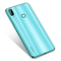 Custodia Silicone Trasparente Ultra Sottile Cover Morbida H01 per Huawei Nova 3 Verde
