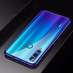 Custodia Silicone Trasparente Ultra Sottile Cover Morbida H01 per Huawei Nova 4 Blu