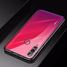 Custodia Silicone Trasparente Ultra Sottile Cover Morbida H01 per Huawei Nova 4 Nero