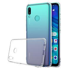 Custodia Silicone Trasparente Ultra Sottile Cover Morbida H01 per Huawei P Smart (2019) Chiaro