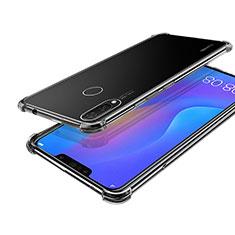 Custodia Silicone Trasparente Ultra Sottile Cover Morbida H01 per Huawei P Smart+ Plus Chiaro