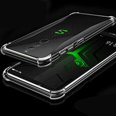 Custodia Silicone Trasparente Ultra Sottile Cover Morbida H01 per Xiaomi Black Shark Helo Chiaro