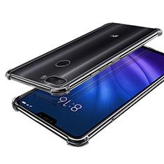 Custodia Silicone Trasparente Ultra Sottile Cover Morbida H01 per Xiaomi Mi 8 Lite Chiaro