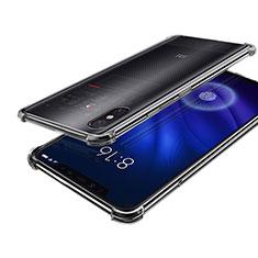 Custodia Silicone Trasparente Ultra Sottile Cover Morbida H01 per Xiaomi Mi 8 Screen Fingerprint Edition Chiaro