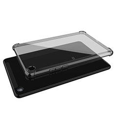 Custodia Silicone Trasparente Ultra Sottile Cover Morbida H01 per Xiaomi Mi Pad 4 Plus 10.1 Grigio