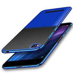 Custodia Silicone Trasparente Ultra Sottile Cover Morbida H01 per Xiaomi Redmi 4A Blu
