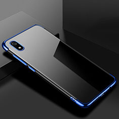 Custodia Silicone Trasparente Ultra Sottile Cover Morbida H01 per Xiaomi Redmi 7A Blu