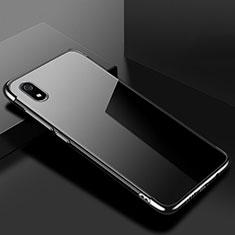 Custodia Silicone Trasparente Ultra Sottile Cover Morbida H01 per Xiaomi Redmi 7A Nero
