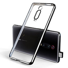 Custodia Silicone Trasparente Ultra Sottile Cover Morbida H01 per Xiaomi Redmi K20 Nero