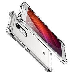 Custodia Silicone Trasparente Ultra Sottile Cover Morbida H01 per Xiaomi Redmi Note 4X Chiaro