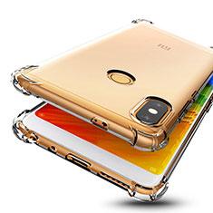 Custodia Silicone Trasparente Ultra Sottile Cover Morbida H01 per Xiaomi Redmi Note 5 Pro Chiaro