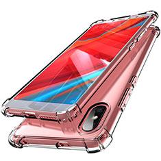 Custodia Silicone Trasparente Ultra Sottile Cover Morbida H01 per Xiaomi Redmi S2 Chiaro