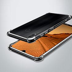 Custodia Silicone Trasparente Ultra Sottile Cover Morbida H02 per Huawei Enjoy Max Chiaro