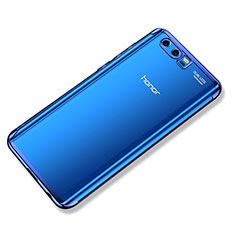 Custodia Silicone Trasparente Ultra Sottile Cover Morbida H02 per Huawei Honor 9 Premium Blu