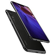 Custodia Silicone Trasparente Ultra Sottile Cover Morbida H02 per Huawei Nova 3 Nero