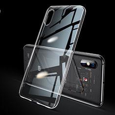 Custodia Silicone Trasparente Ultra Sottile Cover Morbida H02 per Xiaomi Mi 8 Explorer Chiaro