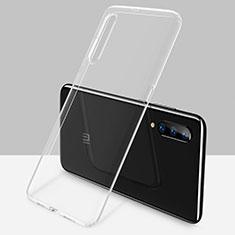 Custodia Silicone Trasparente Ultra Sottile Cover Morbida H02 per Xiaomi Mi 9 Chiaro
