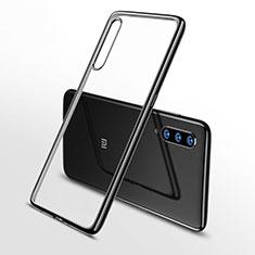 Custodia Silicone Trasparente Ultra Sottile Cover Morbida H02 per Xiaomi Mi A3 Lite Nero