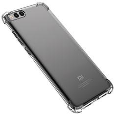 Custodia Silicone Trasparente Ultra Sottile Cover Morbida H02 per Xiaomi Mi Note 3 Chiaro