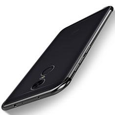 Custodia Silicone Trasparente Ultra Sottile Cover Morbida H02 per Xiaomi Redmi 5 Plus Nero