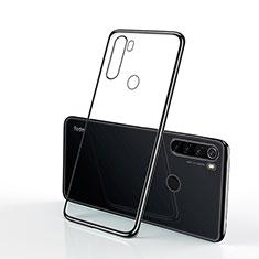 Custodia Silicone Trasparente Ultra Sottile Cover Morbida H02 per Xiaomi Redmi Note 8 Nero